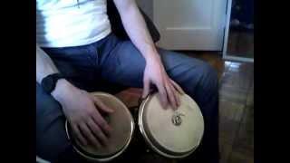 How to Play Bongos - Bongo Lesson 5 - Como Tocar Bongo (Bachata, Martillo/Salsa) - Nate Torres