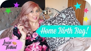 What's In My HOMEBIRTH Bag? | MOTHERHOOD thumbnail