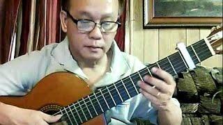 Gửi Gió Cho Mây Ngàn Bay (Đoàn Chuẩn - Từ Linh) - Guitar Cover