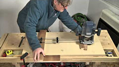 Art Deco Cabinet Router Jig