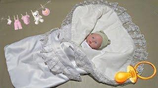 Обзор конверта для новорожденного