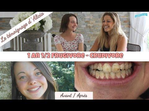 [Témoignage] Alicia 19 ans , 1an 1/2 Crudivore - Frugivore - vegan