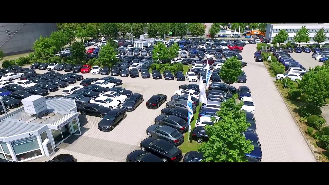 MAHAG Gebrauchtwagenzentrum München Audi - YouTube