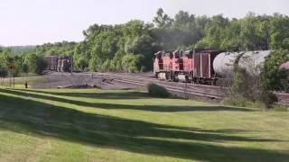 A Train a Minute_BNSF in Minnesota