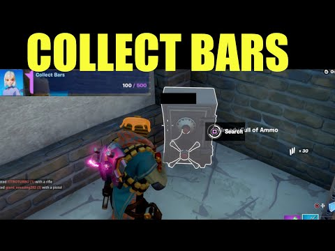 """How to """"Collect Bars"""" fortnite Location Guide"""