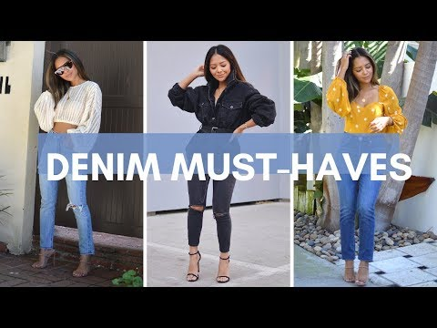 Denim Basics | Must-Have Denim 2019