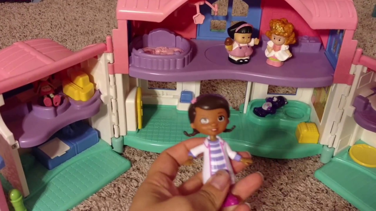 Doll House For Kids Fisher Price Little People Happy Sounds Home