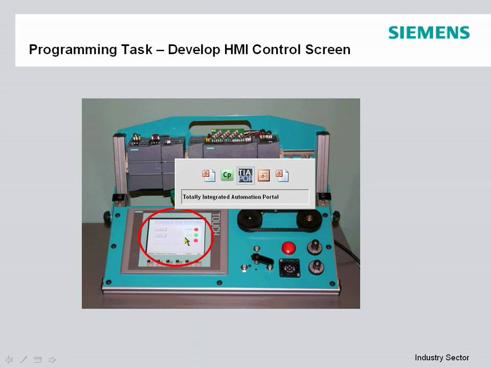 Siemens SIMATIC S71200 Part 3  Adding an HMI to a