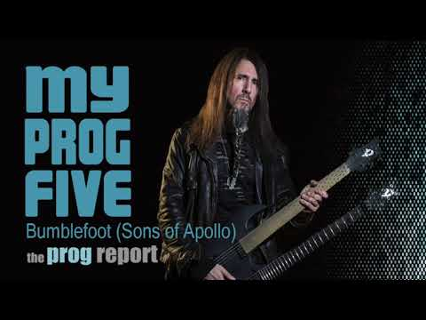 My Prog Five with Bumblefoot (Sons of Apollo)
