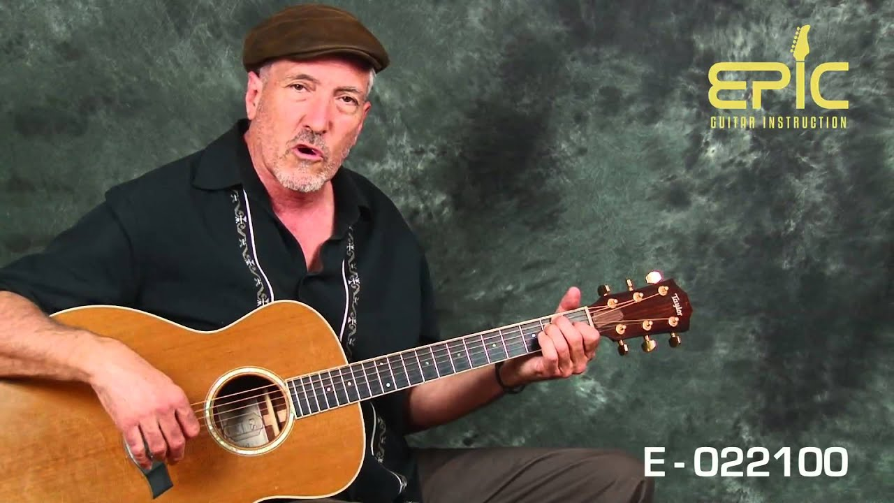 Guitar Song Lesson Ez Classic Country George Strait Amarillo By