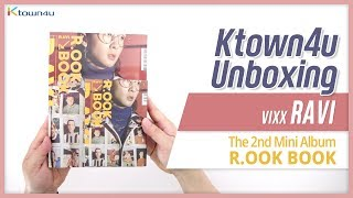 "Unboxing VIXX RAVI 2nd Mini Album ""R.OOK BOOK""(TUXEDO) 빅스 라비 언박싱 Kpop Ktown4u"
