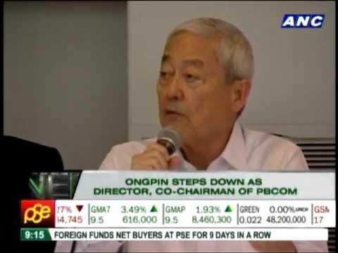 Ongpin steps down as PBCom chair