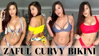 HUGE ZAFUL BIKINI HAUL CURVY EDITION HONEST REVIEW 2018