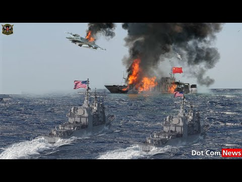 Horrible (mar 04 2021):The US Navy Fired China Fighter Jet after issuing War Threat to Taiwan in SCS