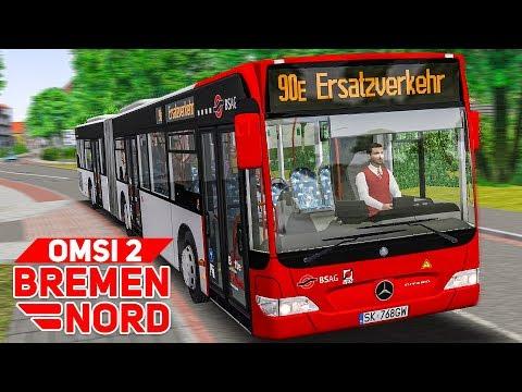 OMSI 2: BREMEN NORD #8: SCHIENENERSATZVERKEHR in Bremen | BUS-SIMULATOR