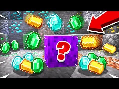 THIS SECRET BLOCK AUTO MINES DIAMONDS!