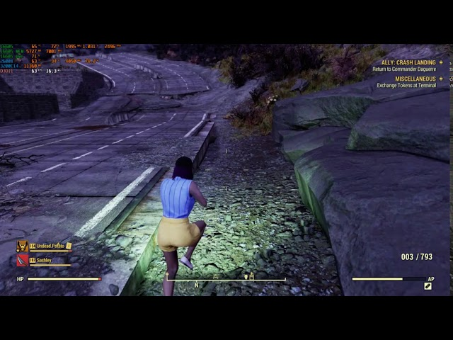 (Gaming video) Sash and the Borb play Fallout 76 and stuff and things. (Another video).