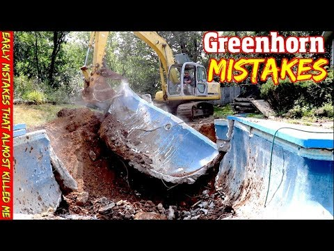 Big Jobs, Heavy Equipment & Bad Choices- My Worst Beginner Mistakes & What I've Learned From Them