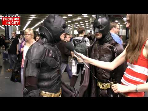 Batman Dark Knight Cosplay Face-Off