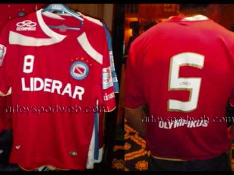 Camiseta Olympikus de Argentinos Juniors 10/11.