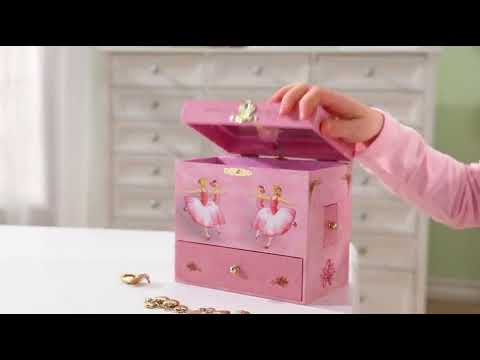 Amazon com Enchantmints Ballerina Musical Jewelry Box Toys Games