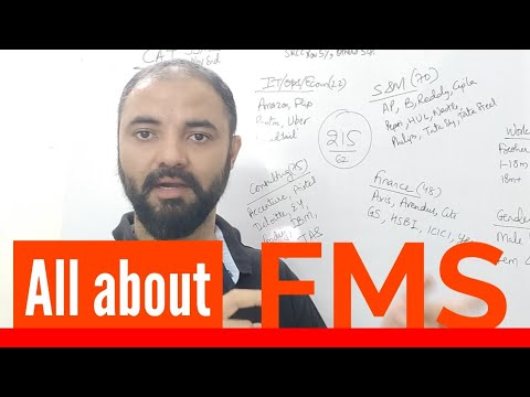 All about FMS. Cutoffs fees placements profile weightage