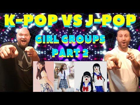 KPOP VS JPOP REACTION VIDEO [GIRL GROUPS SUMMER 2017]