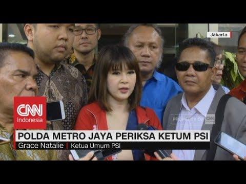 Polda Metro Periksa Ketum PSI, Grace Natalie Mp3