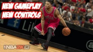 First Look @ NBA 2K13: New Gameplay & Controls