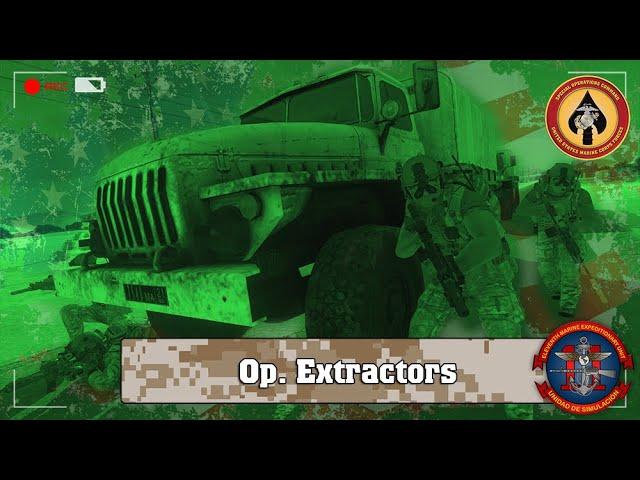 ARMA 3 | Op. Extractors Ep. 2  | 11ThMEU (SOC) | Español