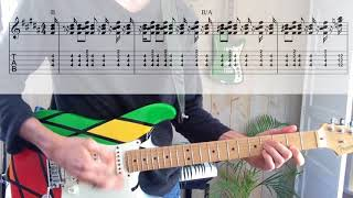 Earth Wind Fire In The Stone TABS in guitar cover.mp3