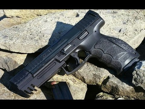 Heckler Amp Koch Vp9 With Compensator Match Weight Youtube