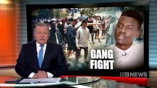 Nine News. Gang Fight. (Former Apex Gang Member Talks)