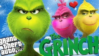 THE NEW GRINCH LOSES HIS GIRLFRIEND MOD (GTA 5 PC Mods Gameplay)