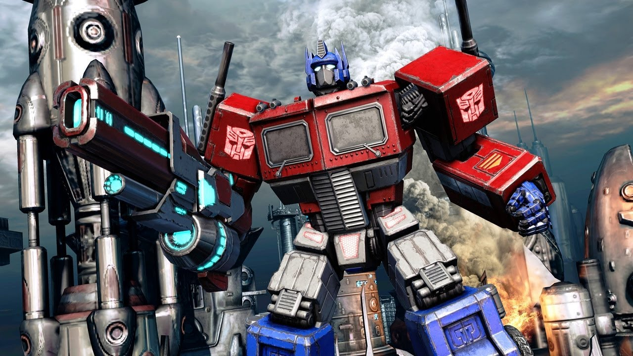 transformers fall of cybertron 39 g1 optimus prime trailer 39 true hd quality youtube. Black Bedroom Furniture Sets. Home Design Ideas