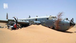 10 Aviones abandonados sorprendentes