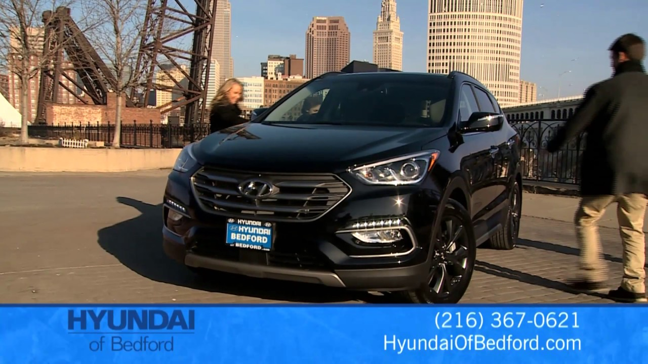 Hyundai Of Bedford >> Hyundai Of Bedford 2017 Santa Fe Youtube