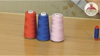 видео Нитки швейные | Какие нитки использовать для швейных машин