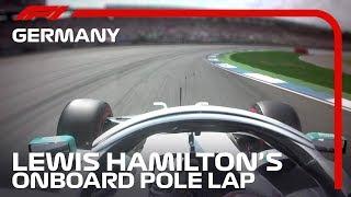 Lewis Hamilton Takes Pole At Hockenheim | 2019 German Grand Prix | Pirelli