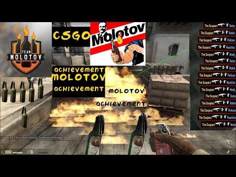 CSGO 100 MOLOTOV KILL-MOLOTOV ACHIEVEMENT