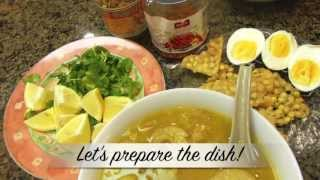 Mohinga (Noodle Soup) | Sweet Violet's Burmese Cuisine