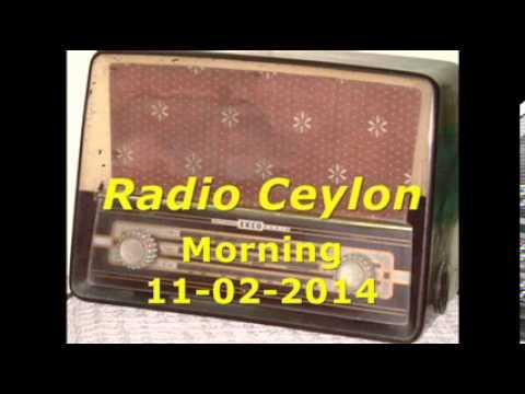 Radio Ceylon 11-02-2014~Tuesday Morning~02 Purani Filmon Ka Sang