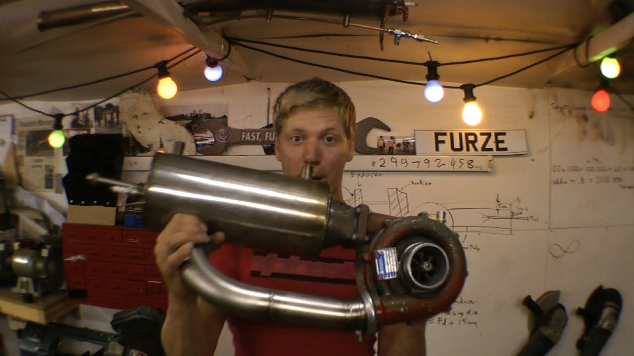 Building A Jet Engine From A Turbocharger