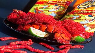 Hot Cheeto Fried Lobster and Shrimp (2019)