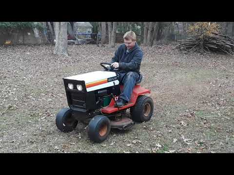 1978 Roper Sears LT8/36 Lawn Tractor start and run purchased by NY Lottery for TV commercial
