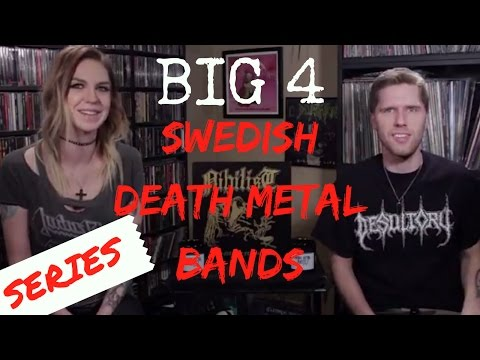 The Big Four Swedish Death Metal Bands: Our Picks + Collection