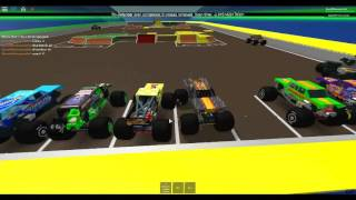 Monster Jam Orlando 2016 parte 2 (Roblox Monster Jam Championship Series)