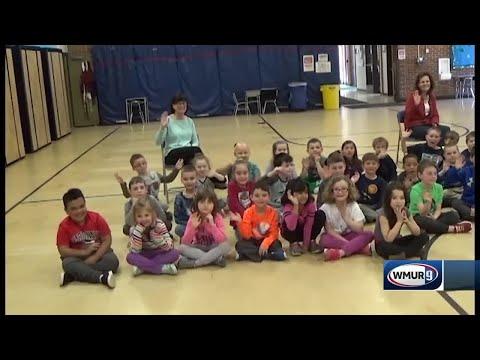 School visit: Reeds Ferry School in Merrimack