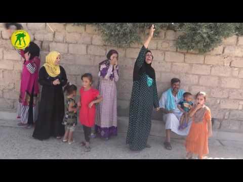 Iraqi PMU liberate Shirqat city from ISIS celebrating with civilians