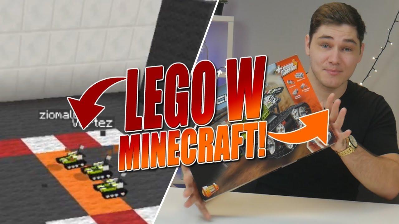 LEGO w Minecraft! w/ Zio & Vertez